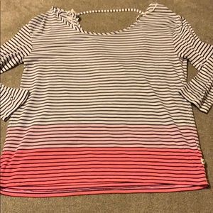 American Eagle Outfitters Open Back Blouse